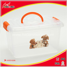Color Printing Plastic Storage Boxes Containers (Hot sale)