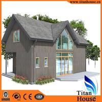 Anti-Seismic Minimalist Modern Design Light Gauge Steel Framing 2 Storeys Japan Prefab House