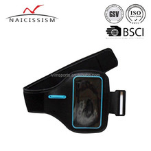 New Running ultra slim waterproof sport armband for iphone 6 4.7inch with key holder and breathable mesh hole