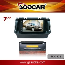 7 inch HD color digital DVD player for Renault series-Koleos 2010-2015 with TV USB SD IPOD built-in GPS