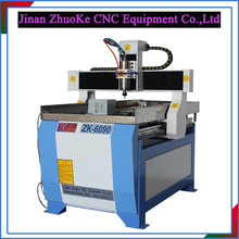 Desktop CNC Engraving Machine For Metal With Tools Cooling System 600*900mm ZK-6090-1.5Kw