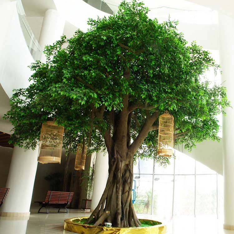 High simulation large artificial tree for outdoor for Artificial leaves for decoration