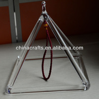 The Cheapest quartz crystal pyramid for Sound therapy PSQ003