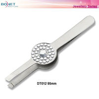 DT012 FDA Certificated Jewellery Series Individual Tweezer
