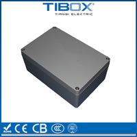 RAL7038 IP66 LV aluminum boxes /aluminum device case /aiuminum extrusion enclosure