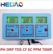 Bench digital ORP/CF/TDS /Temp /ph ec controller