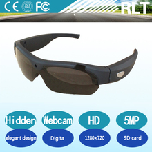YSJ SM HD 720P Eyewear Video Recorder 500mAh spy glasses hidden camera 5MP Support TF/SD card real-time record and taking photo