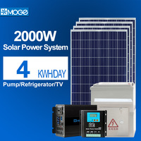 Moge home solar power energy system 2kw low configuration