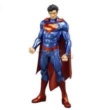 DC Comics Super Hero Kotobukiya Superman 8'' Action Figure PVC Doll Statue Collectible Toy