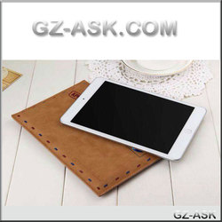 Alibaba belt clip For ipad mini case with Envelope design of leather case for ipad mini 1/2/3
