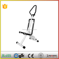 Twist moon surfing foot mini exercise stepper with handlebar
