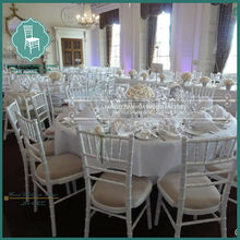 commercial wedding use wooden hotel chiavari chair