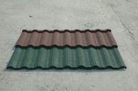 U-Type Stone Coated Metal Roof Tiles Based on 0.4mm Thinkness Steel Plate