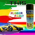 400ml peelable de colores de pintura de caucho para los coches