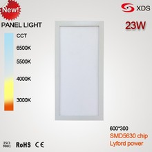 Driver Inside seamless cover Sumsung 5630 23w 30x60 cm led panel light