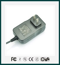 5V 4A ,6V 4A, 7.5V 3.2A, 9V 2.7A,12V 2A,24V 1A, 24W AC/DC power adapter