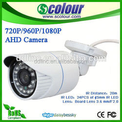 ahd camera analog hd bullet camera 1.0 megapixel, bus mini bullet camera, ahd camera imx238 nvp2431h Bessky Factory