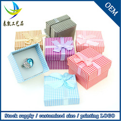 Wholesale China Box Decorative Ring Display Case Promotion Jewelry Case