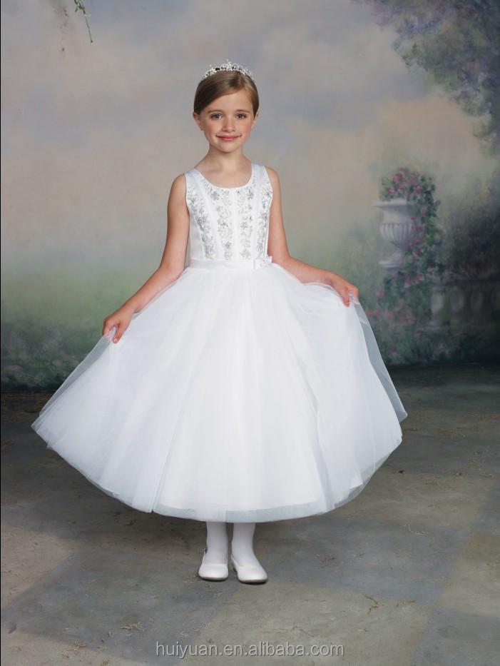 Disfraz con vestido blanco para nina