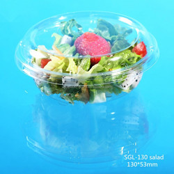 Hot china wholesale transparency plastic salad packaging boxes