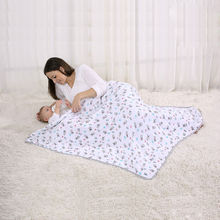 LAT baby swaddle summer infant travel baby swaddle wrap summer