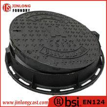 en124 ductile cast iron water meter manhole cover
