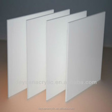 White pearl acrylic sheets for bathtub producing
