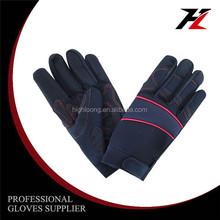 Micro fiber long serve life mechanic 4543 safety gloves