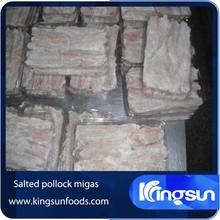Dried Salted Alaska Pollock Migas Theragra Chalcogramma