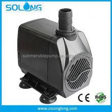 2015 New Design 2500 L/H 45 W black led house waterfalls pump indoor