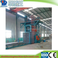Steel structure shot blasting machine/section steel shot blasting machine