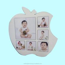 Apple shaped photo frames / guitar shaped photo frames for 6 photos