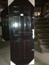 hot selling six panel stainless american steel door personized