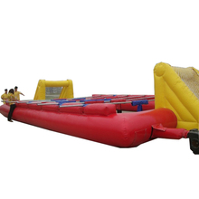 Inflatable football field, inflatable soap football field, inflatable soccer pitch for sale