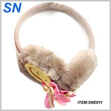 2014 knit custom fashion earmuffs