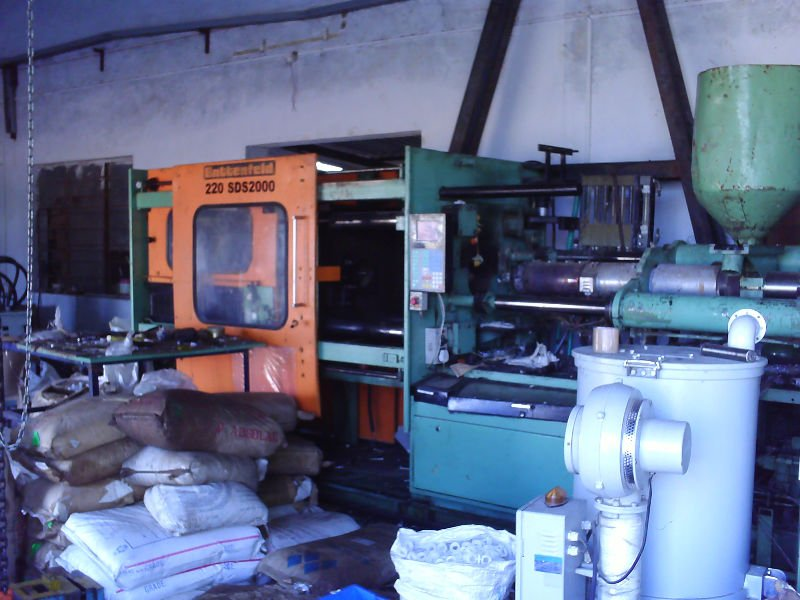 used injection moulding machine for sale in india