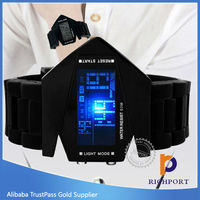 Top one selling R0775 hot sales LED touch screen watch, digital watch LED