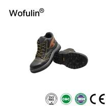 Coal mine equipment steel toe cap protective work boots