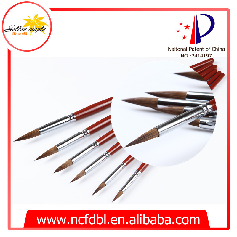 Wholesale cheap paint brushes water color brush round for Wholesale craft paint brushes