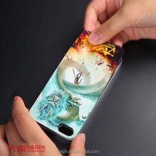 custom mobile skin with daqin mobile phone sticker machine