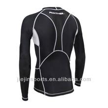 High Quality SUB DUAL Mens Compression Top L/S Baselayer - Mens Skin Tight T Shirt Fit Gym Sports Shirt