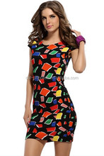 Wholesale women floral dresses 2015