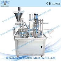 starbucks coffee capsule filling sealing machine