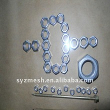 high quality stainless steel PVC Metal Nuts