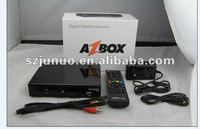 NEW Receiver AZBOX Bravissimo WIFI HD 1080 HIGH DEFINITION FTA Bravisimo