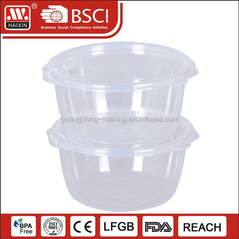 Plastic Food Containers Wholesale 38 OZ Asporto Microwavable To Go