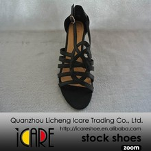Good Quality Competitive Price Plastic High Heels Shoes