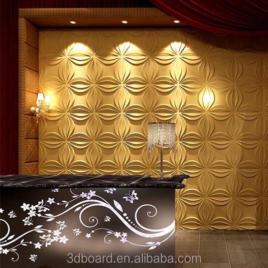 Fashion Design Bamboo Fiber Eco friendly Bamboo Wall Decor
