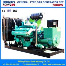 Hot Sale 200KW Syngas/Biomass Gas Generator