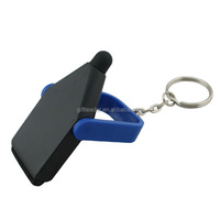 Mini Touch Screen Stylus Pen And Screen Cleaner Keychain